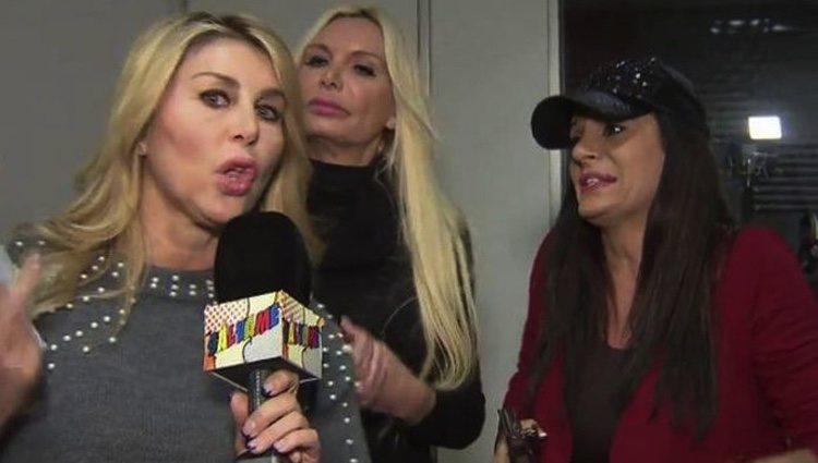 Malena Gracia, Yola Berrocal y Sonia Monroy discuten en 'Sálvame' | Foto: Telecinco.es