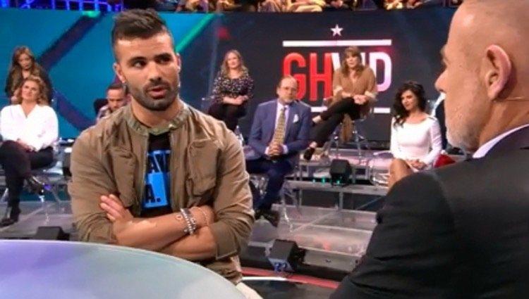Tutto en el plató de 'GH VIP'/Foto: Telecinco