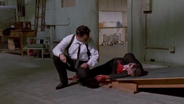 Escena de la película 'Reservoir Dogs'   Fuente: Youtube