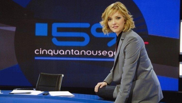 Maria Casado en su programa '59 minutos'
