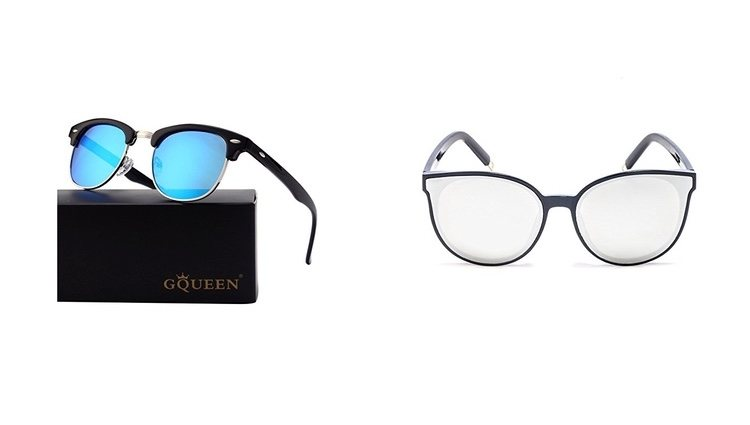 Gafas de sol polarizadas y sin polarizar