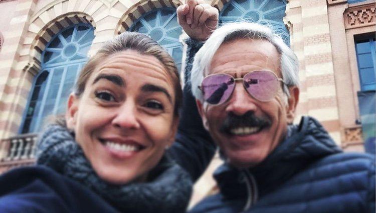 La pareja, en una de sus últimas fotos juntos, en el Instagram de Irene Meritxell | Foto: Instagram