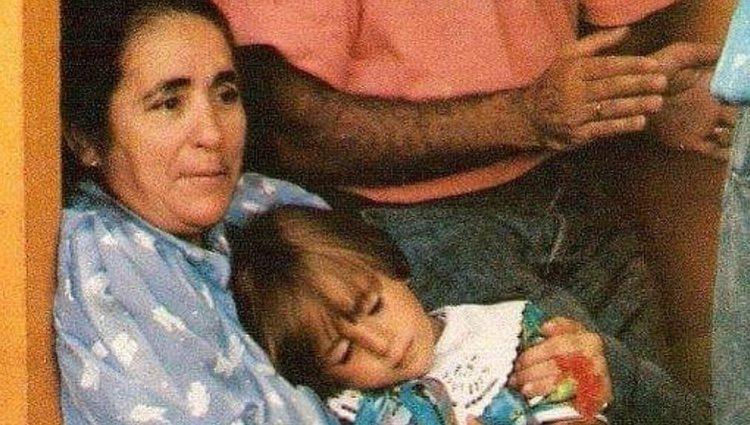 La abuela Ana con Kiko Rivera / Instagram