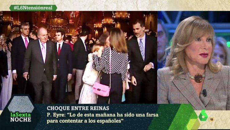 Pilar Eyre durante su intervención en el programa | Foto: La Sexta