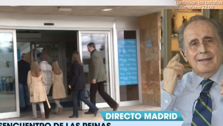 Jaime Peñafiel analiza los últimos acontecimientos reales en 'Viva la vida' Foto: Mediaset