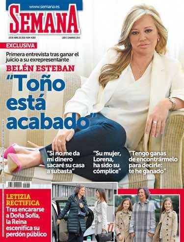 Exclusiva de Belén Esteban tras ganar a Toño Sanchís