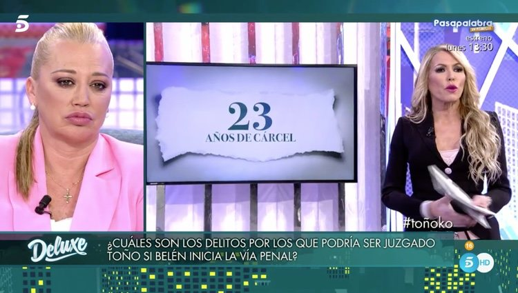 La abogada Montse Suárez explicó los delitos por los que podría ser acusado Sanchís | Foto: Telecinco