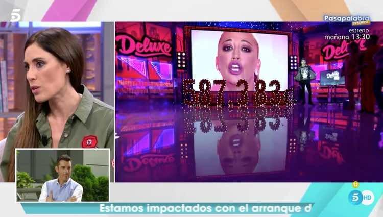 Isabel Rábago contando qué hará ahora Toño Sanchís