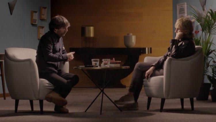 Mercedes Milá y Jordi Évole en el programa 'Salvados' | Foto: La Sexta