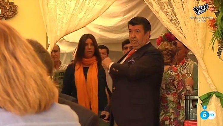 Gil Silgado, en plena disputa con su hija. Foto: Telecinco