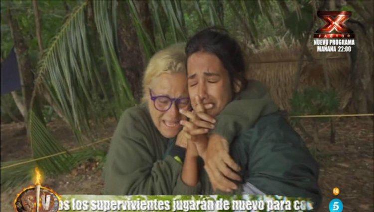 Las 'asilvestradas' celebran su incorporación temporal al 'lado civilizado'   telecinco.es