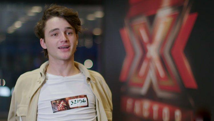 Pol, participante de 'Factor X' Foto: Telecinco