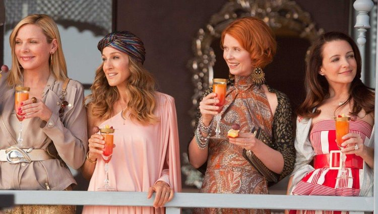 Las cuatro actrices de 'Sexo en Nueva York'