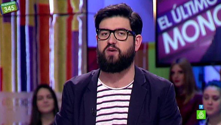 Manu Sánchez en 'Zapeando' / Foto: La Sexta