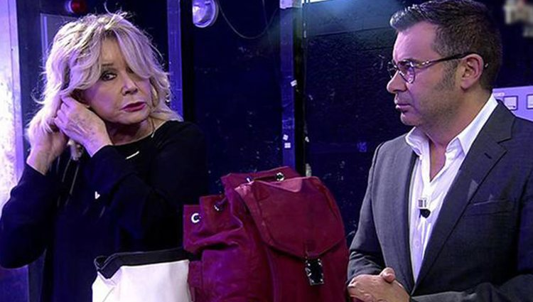 Mila Ximénez y Jorge Javier Vázquez en 'Sálvame' Foto: Telecinco