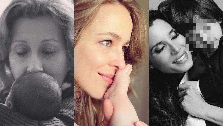 Las fotos subidas por Eva González, Silvia Abascal y Pilar Rubio / Fuente: Instagram