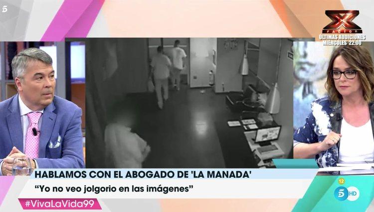Toñi Moreno planta al abogado de 'La Manada' / Fuente: telecinco.es