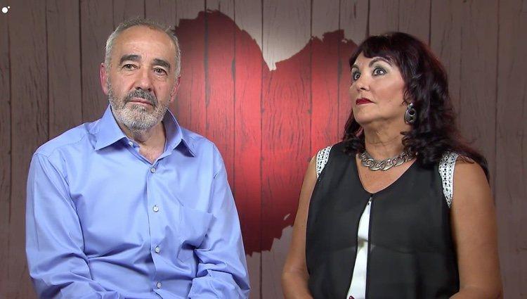 Encarni y Juan en 'First Dates' / Cuatro.es