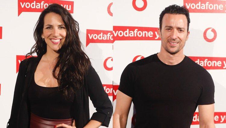 Irene Junquera y Pablo Puyol en el concierto de Pablo López