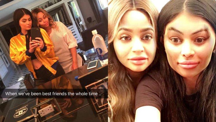 Las publicaciones de Snapchat que confirmaban la amistad entre las cuñadas / Fuente: Snapchat