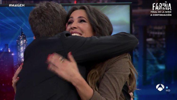 Pablo Motos ha querido mostrarle también todo su apoyo / Fuente: Antena3.com