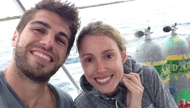 Maribel Nadal y su pareja, Pep Juaneda, en una de sus escapadas / Instagram