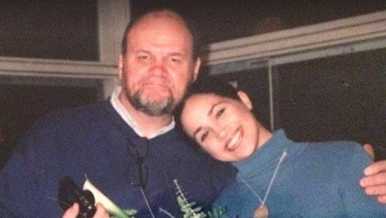 Meghan Markle con su padre, Thomas Markle