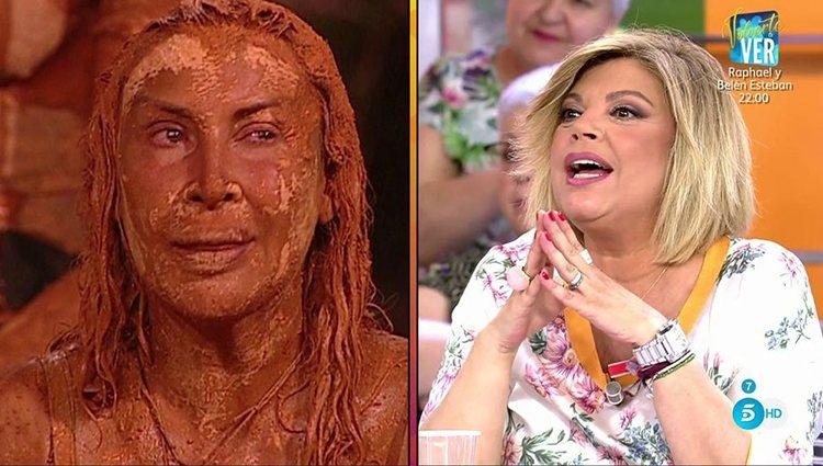 Terelu no habla de Raquel Mosquera Foto: Telecinco