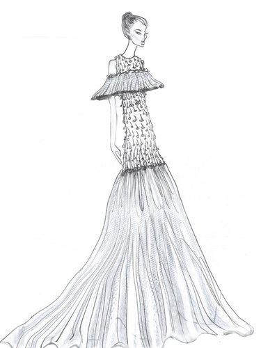 Segundo vestido de Alejandra Silva en su boda con Richard Gere | Foto: Yaniv Persy