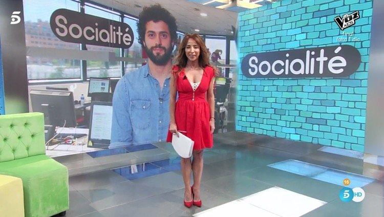 María Patiño responde a Jorge Javier Vázquez / Foto: Telecinco.es