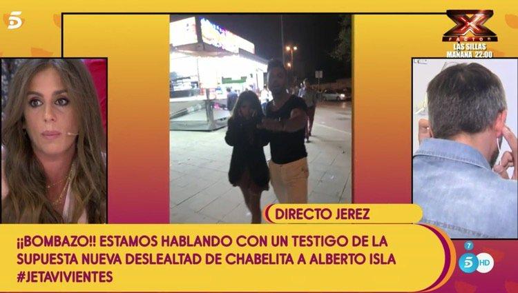 Un testigo cuenta los detalles en 'Sálvame'/Foto: Telecinco