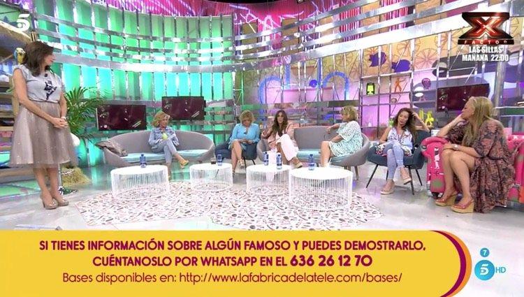 Anabel Pantoja defiende a su tía en 'Sálvame'/Foto: Telecinco