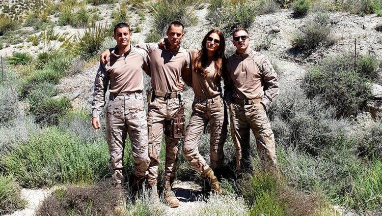Paula Echevarría con sus compañeros de reparto/ Fuente: Instagram