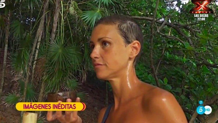 María Jesús Ruiz hablando de su pelo / Foto: telecinco.es