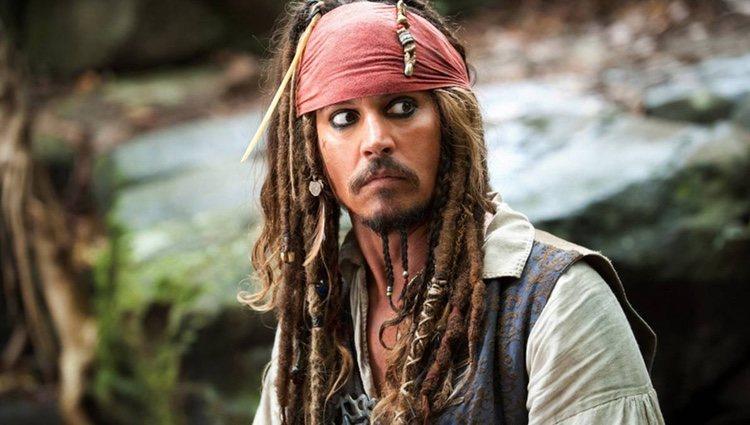 Este personaje, Jack Sparrow, es el que más alegrías le ha dado/ Fotograma: 'Piratas del caribe'