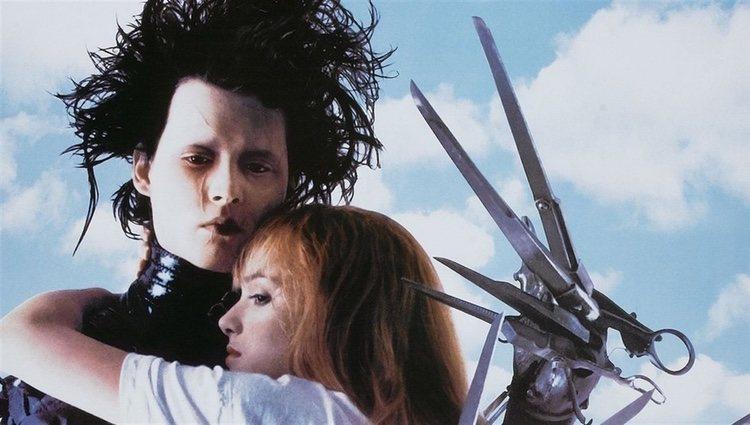 Fotograma de Johnny Depp dando vida a Eduardo Manostijeras