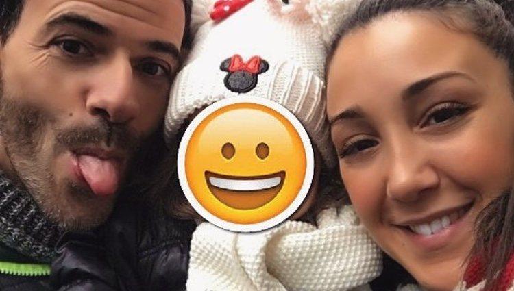 Laura Barcelona, Luismi y su hija / Instagram