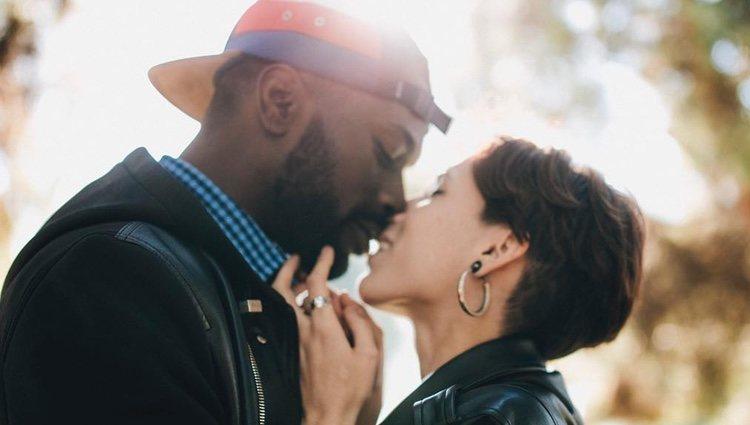 Dosel y su pareja / Instagram