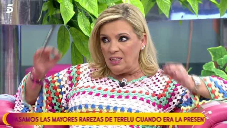 Carmen Borrego defendiendo a su sobrina / Telecinco.es