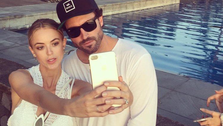 Brody Jenner y Kaitlynn Carter en Bali / Fuente: Instagram