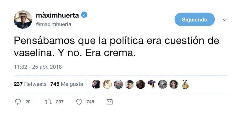 Tuit sobre la política en general