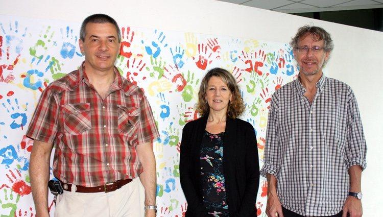 En el centro, Ángeles Zorreguieta en la Fundación Campomar / Leloir.org
