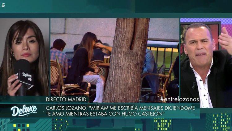 Carlos Lozano fue implacable con Saavedra / Foto: Telecinco.es