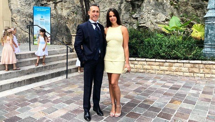 Pauline Ducruet y su padre Daniel el día de la boda / Fuente: Instagram