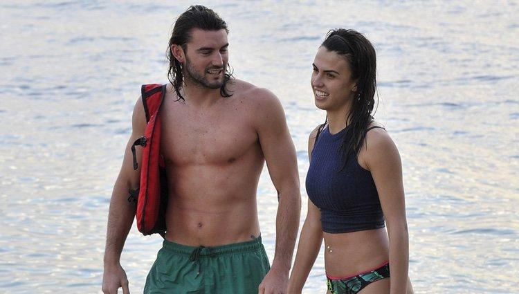 Logan y Sofía llegan a la isla en la primera gala de 'Supervivientes 2018'