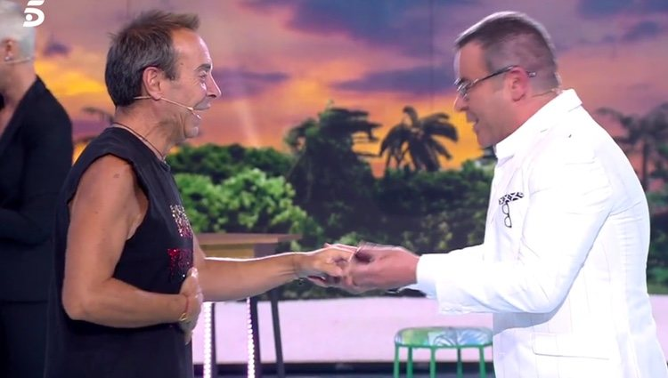 Maestro Joao y Jorge Javier Vázquez se reencuentran / Foto: telecinco.es