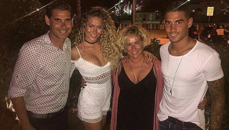 La familia Hierro mantiene una gran relación | Fuente: Instagram