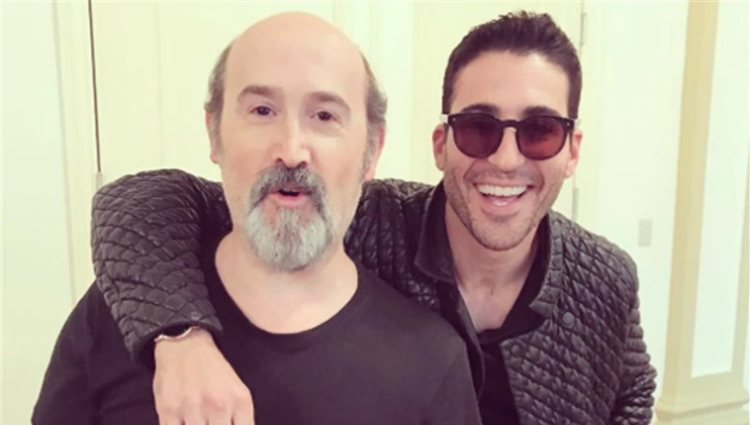 Los actores Javier Cámara y Miguel Ángel Silvestre
