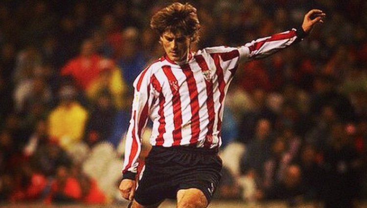Una leyenda en la historia reciente del Athletic Club de Bilbao | Fuente: Instagram Julen Guerrero