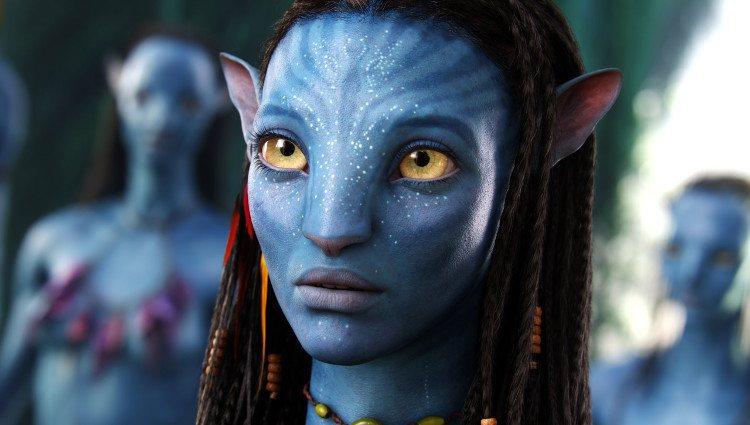 El papel más importante de Zoe Saldaña fue en la película 'Avatar'